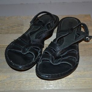 BORN LEATHER SANDALS